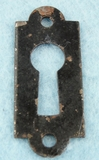Single painted iron keyhole cover (1092)