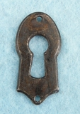 Single steel keyhole cover (1095)