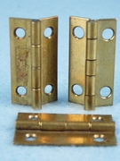Brass hinge (7 available) (1310)