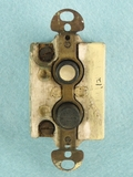 Push button light switch, circa 1910s (5 available)