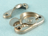 Nickel plated steel window latch (10 available) <NOBR>(ca. 1920s)</NOBR>