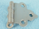 Satin nickel plated brass offset hinge (15 available) (1305)