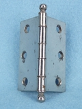 Nickel plated steel hinge (7 available) (1311)