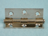 Nickel plated steel hinge (20 available) (1522)
