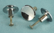 Chrome plated steel knob (3 available) (1243)