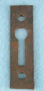 Single iron keyhole cover (1085)