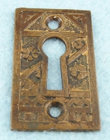 Cast brass keyhole cover (1089)