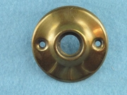 Brass door knob rosette (7 available) <NOBR>(ca. 1930s)</NOBR>