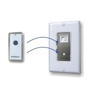 Wall Lamp With Dimmer : SkylinkHome WR-318 Wall Light Dimmer