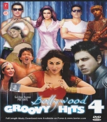 Bolly Wood Groovy Hits Vol. 4 -  Songs DVD