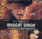 The Legend Of Bhagat Singh - CD