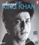 SHAHRUKH KHAN, ALWAYS THE KING KHAN- COLLECTION OF 50 HIT MOVIE SONGS DVD
