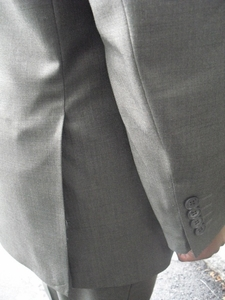 Pewter 2 button suit (view#2)