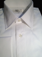 Angelino White Dress Shirt