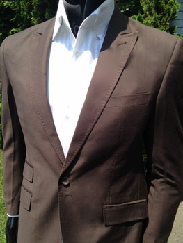 Angelino P. Twill Suit(Brown