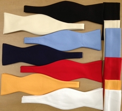 MorCouture Bowtie and <br>Hanky set<br> (7 colors)
