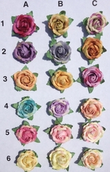 MorCouture Lapel Roses <br>(18 colors)