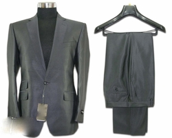 Designer 1 Button Grey Suit