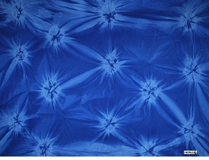 "Sarong ""Blue / Light Blue"" Smoked"