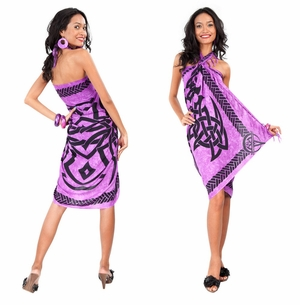 Celtic Sarong in Purple