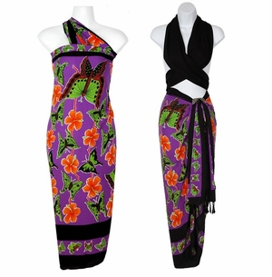 """""""Multi Colored"""" Butterfly Sarong"""