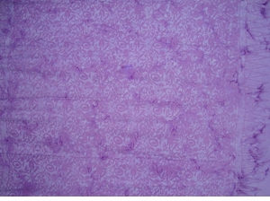 Floral Design Top Quality Sarong in Purple