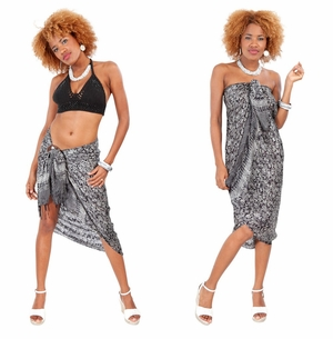 Silk Sarong in Black - Assorted