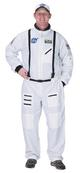 Adult Astronaut Suit - White with Embroidered Cap