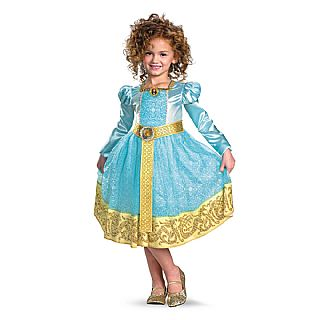 Child Deluxe Brave Merida Costume
