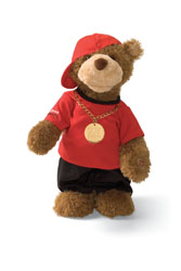 "Gund 13"" Hip Hop Randy Musical Birthday Bear"