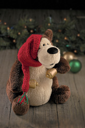 "Gund 13"" Jingle Bell Rock Goober Christmas Bear"