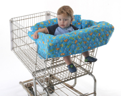 Bebe Ease Clean Shopper Sea Life Shopping Cart Seat Cover