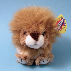 Dillon Lion Puffkins 2 Plush