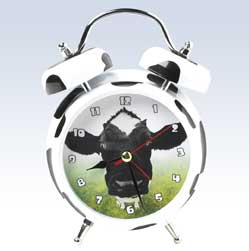 Wacky Wakers Mooing Cow Sound Alarm Clock