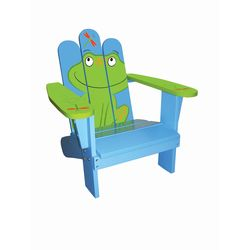 Frog Kids Adirondack Chair