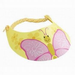 Phoebe the Butterfly Kids Visor
