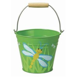 Dragonfly Metal Bucket