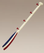 Authentic Models Red, White and Blue Oar Coat Rack