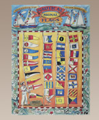 Authentic Models for Kids Signal Flags Canvas Print Wall Hanging
