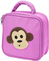Pink Monkey Lunch Bag by Four Peas