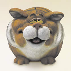 Fat Tiger Money Bank by Swibco