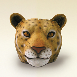 Leopard Face Money Bank by Swibco
