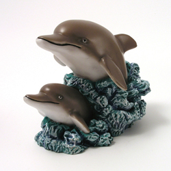 Dolphins Money Bank by Swibco