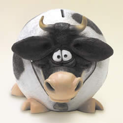 Cow Funny Animal Money Bank