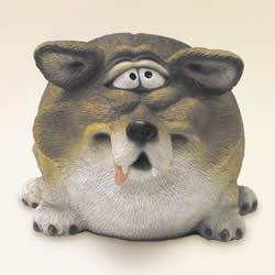 Fat Wolf Money Bank by Swibco