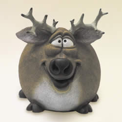 Funny Deer Animal Money Bank