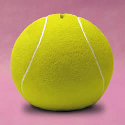 Tennis Ball Sports Money Bank