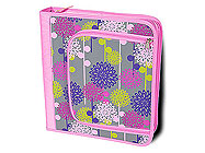 Floral Burst Room It Up 3 Ring Binder