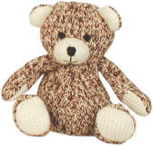 Mini Sock Teddy Bear by Sock Monkey