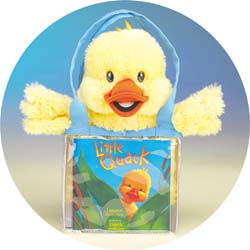 Little Quack PuppeTote by Princess Toys